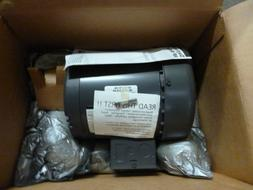 NEW 1/3 HP Electric Motor,3-Phase,1800 RPM,Voltage 230/460,F