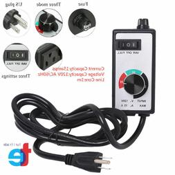 router fan variable speed controller electric